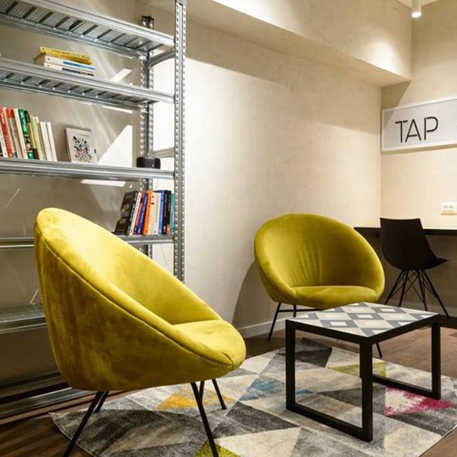 TAP פלורנטין - מרחב עבודה משותף